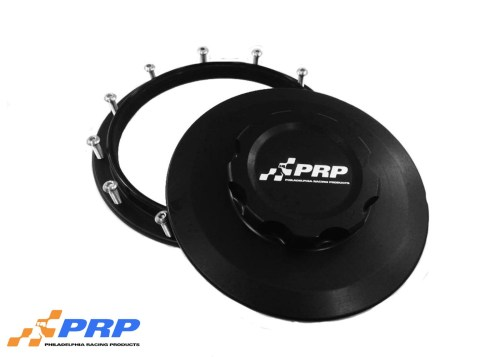 Black Billet Intercooler Caps made by PRP Racing Products