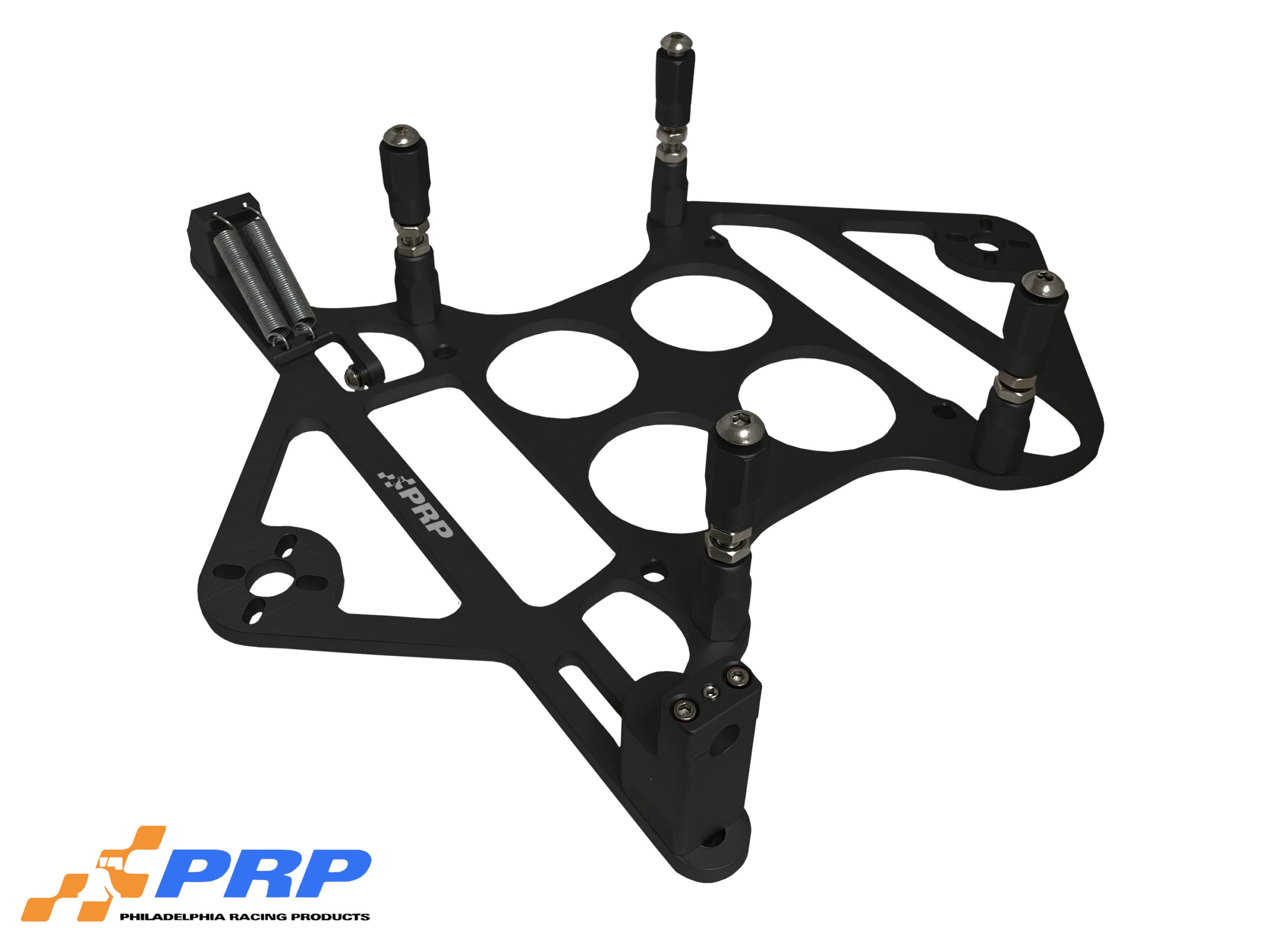 Black 4500 Scoop Mounting Bracket With Nitrous Mount
