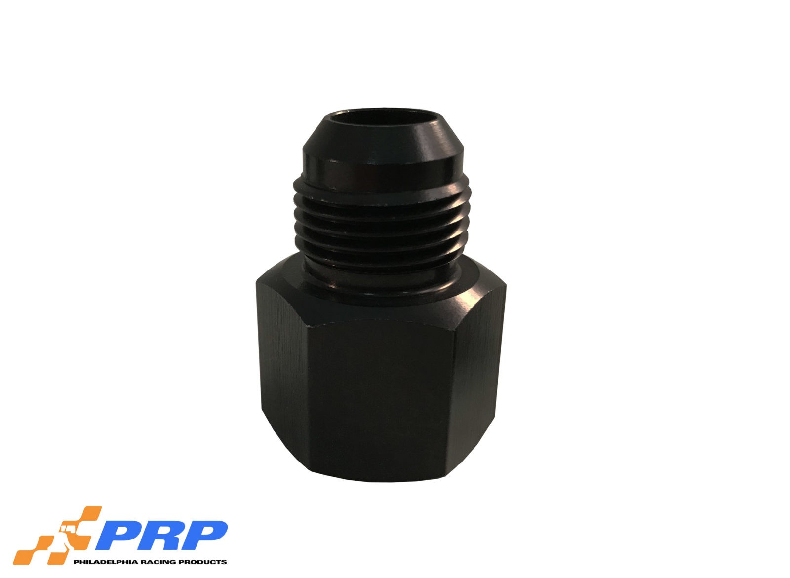 Black 12AN Female to 10AN Male Reducer by PRP Racing Products