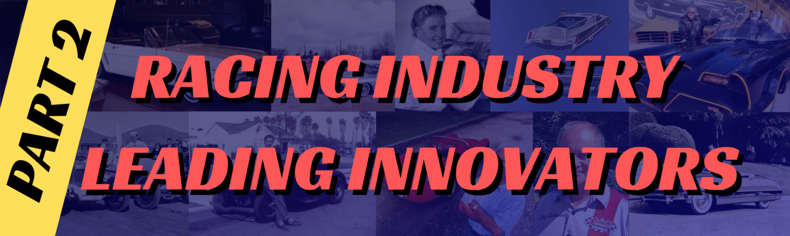 Racing Industry Leading Innovators PRP Racing Products