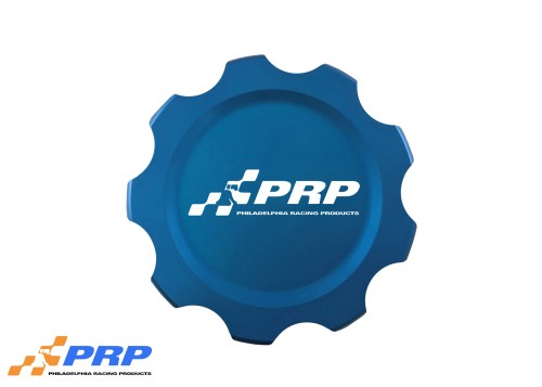Blue Replacement Fuel Cell Cap Made by PRP Racing Products