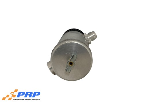 Aluminum Breather Tanks Bottom view made by PRP Racing Products