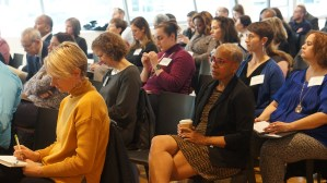 Day two audience.
