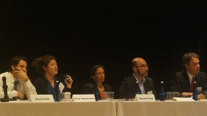 Panel: Small Area FMRs and Alternative Payment Standards – Maximizing Mobility Success Rates From left to right: Steven Field (Chicago Housing Authority), Sarah Oppenheimer (King County Housing Authority), Deborah Thrope (NHLP), and Rob Silverman (SUNY Buffalo).