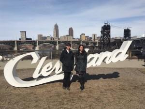 Cleveland, OH:   Housing Choice Partners Executive Director Andrea Juracek and PRRAC Deputy Director Megan Haberle.