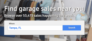 yard sale search and ads