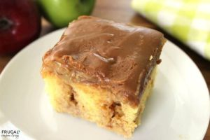 caramel-apple-poke-cake-frugal-coupon-living-small