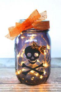 lighted-halloween-mason-jar