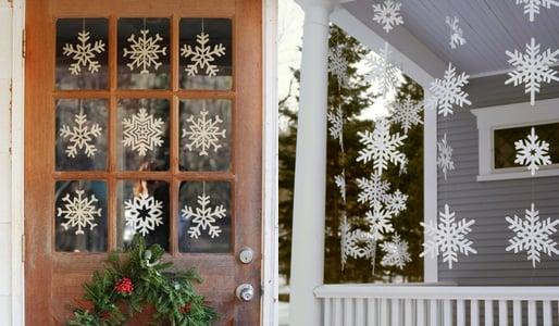 outdoor-snowflakes