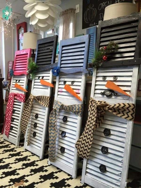 50 Cheap & Easy DIY Outdoor Christmas Decorations ... on Easy Diy Garden Decor id=66225