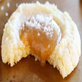Caramel Vanilla Butter Cookies