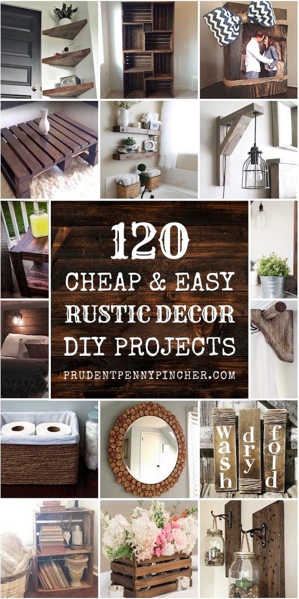 easy rustic diy home decor