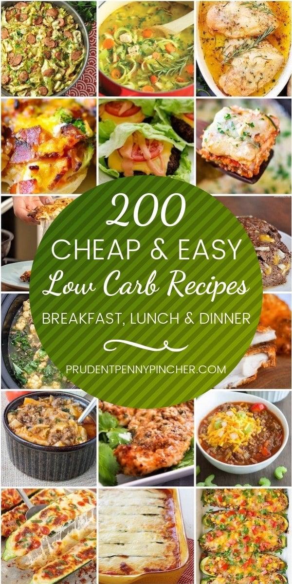 Very Cheap Dinner Meals