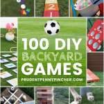 100 Fun Diy Backyard Games Prudent Penny Pincher