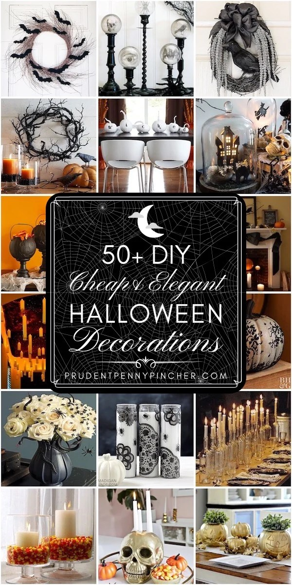 50 Cheap And Elegant Halloween Decorations Prudent Penny Pincher
