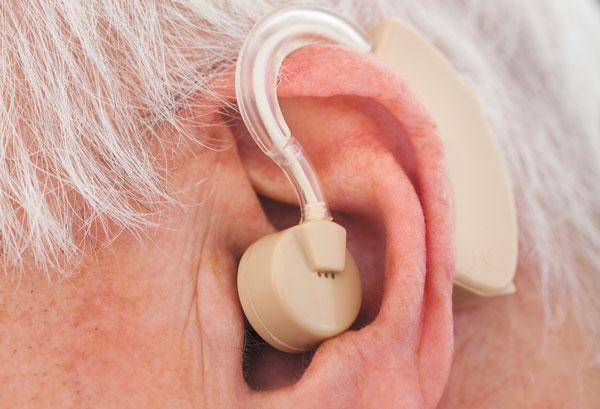 Guy Aids Hearing Ear