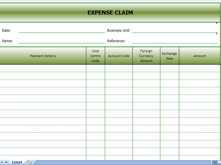 daily income and expense excel sheet sample 2