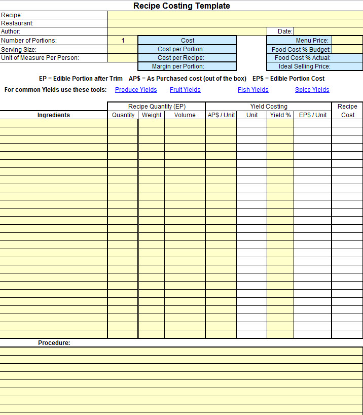 cost benefit analysis template xls sample