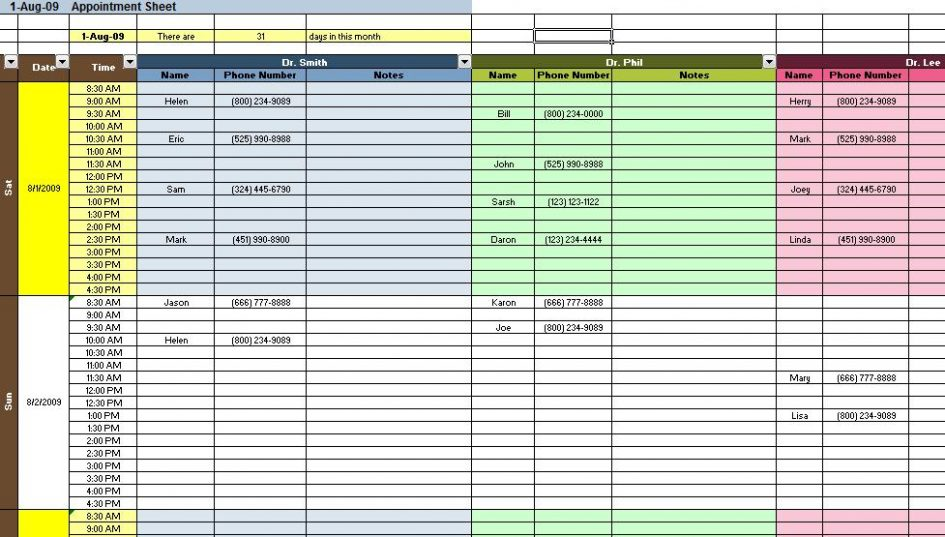 excel budget templates 1