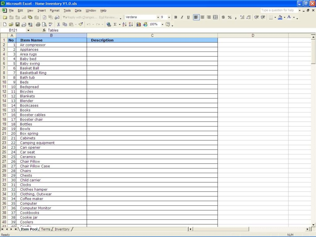 free stock inventory software excel sample 1