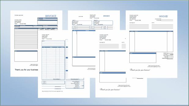 invoice template doc sample