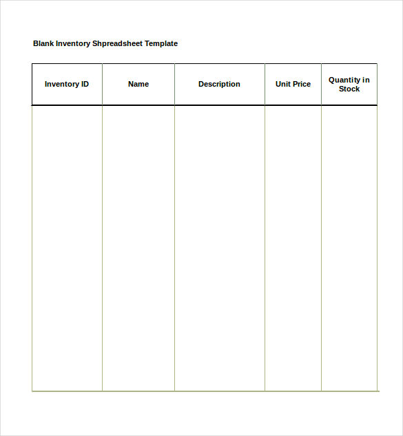 stock register format in excel sheet sample