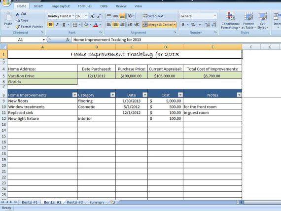 tenant rent tracking spreadsheet