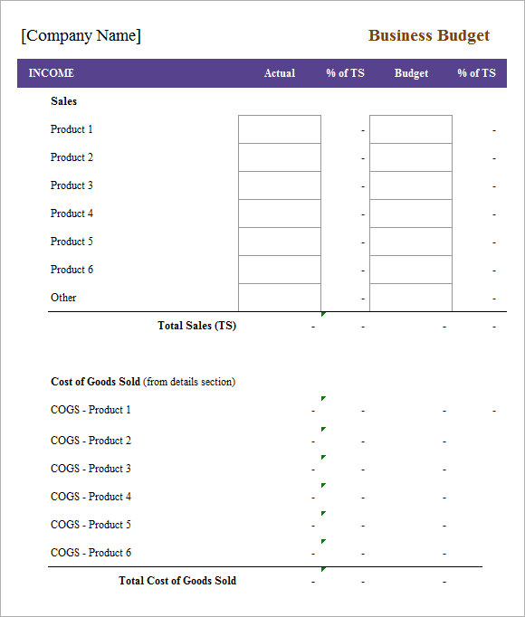 weekly budget template 2