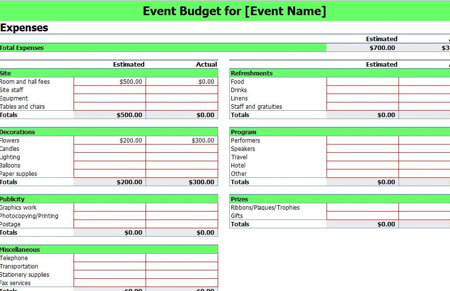 event planning checklist template microsoft sample