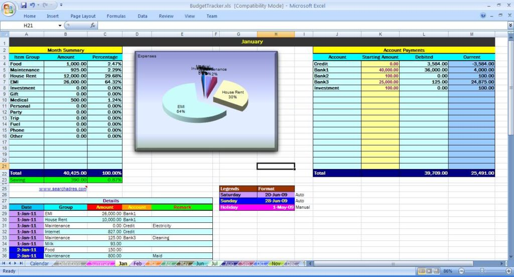 Maintenance Tracking Spreadsheet and Machine Maintenance Schedule Template