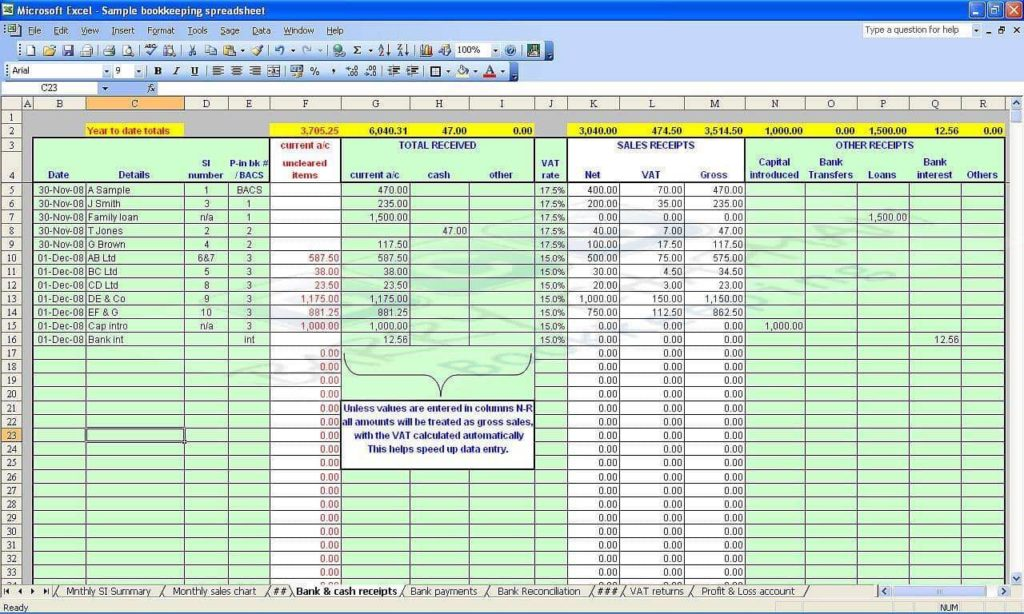 Business Expense Spreadsheet Excel Template And Daily Expenses Sheet In Excel Format Free Download