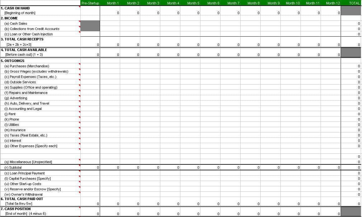 Small Business Accounts Spreadsheet Template Free Uk And Business Accounting Spreadsheet Template