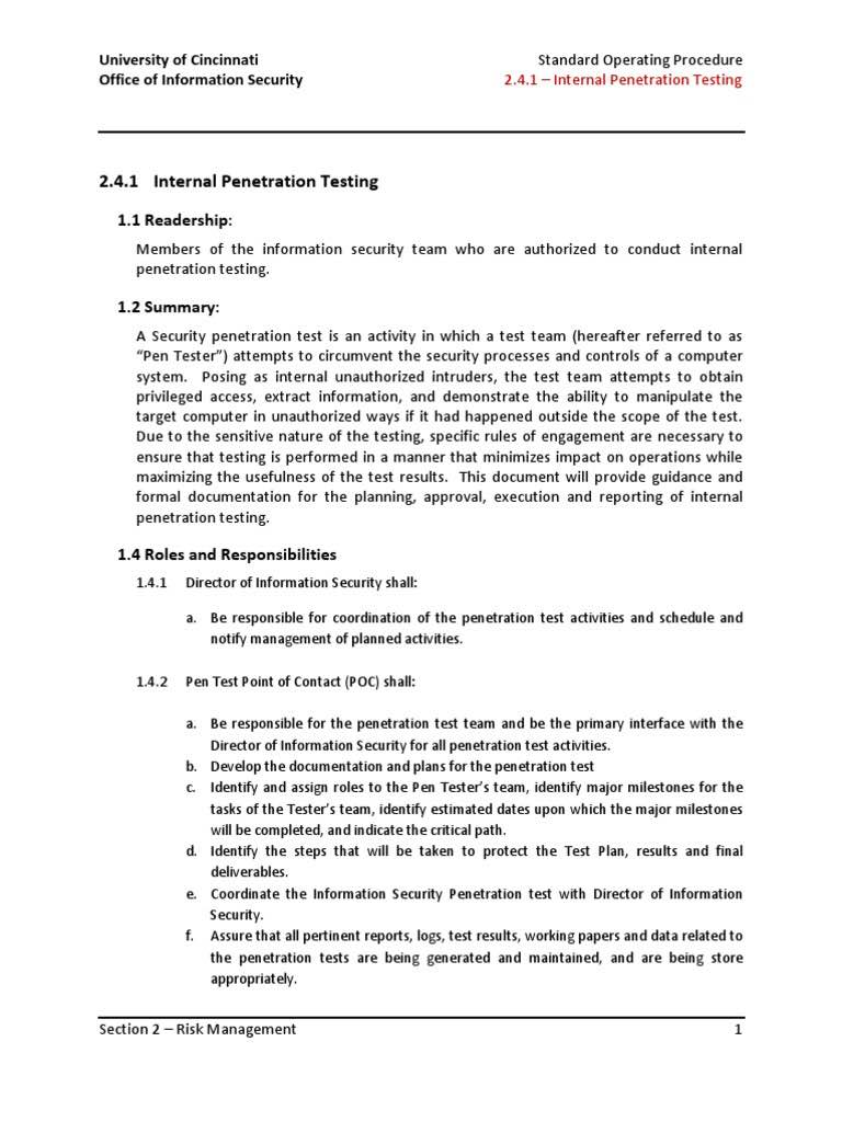 Penetration Testing Report Example And Penetration Testing Report Conclusion