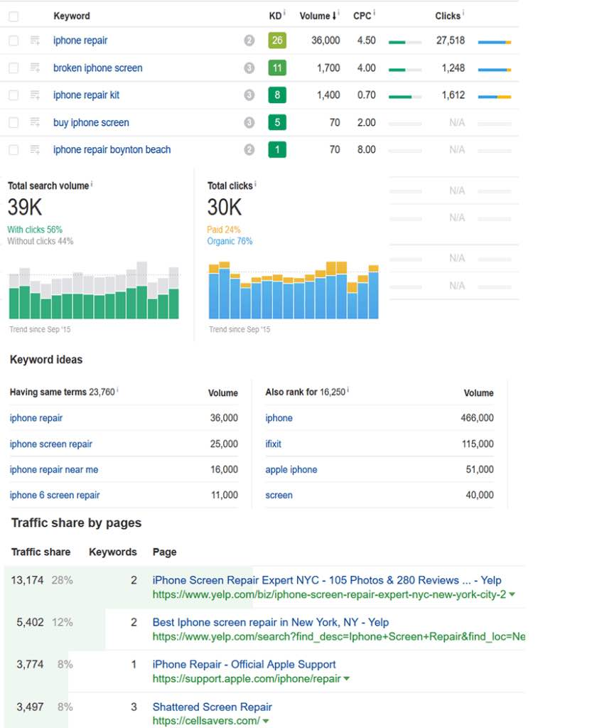 SEO Audit Report Format And SEO Analysis Report Template