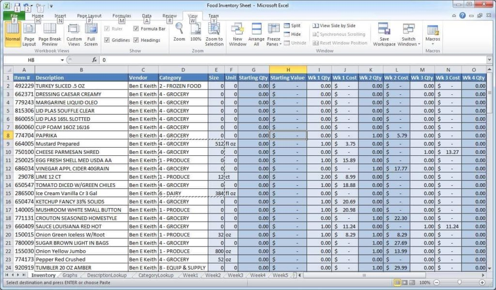 Sample Spreadsheet Templates And Sample Sales Spreadsheet