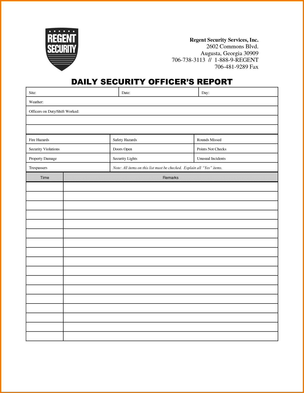 Information Security Incident Report Template Pdf And Security Guard Incident Report Sample