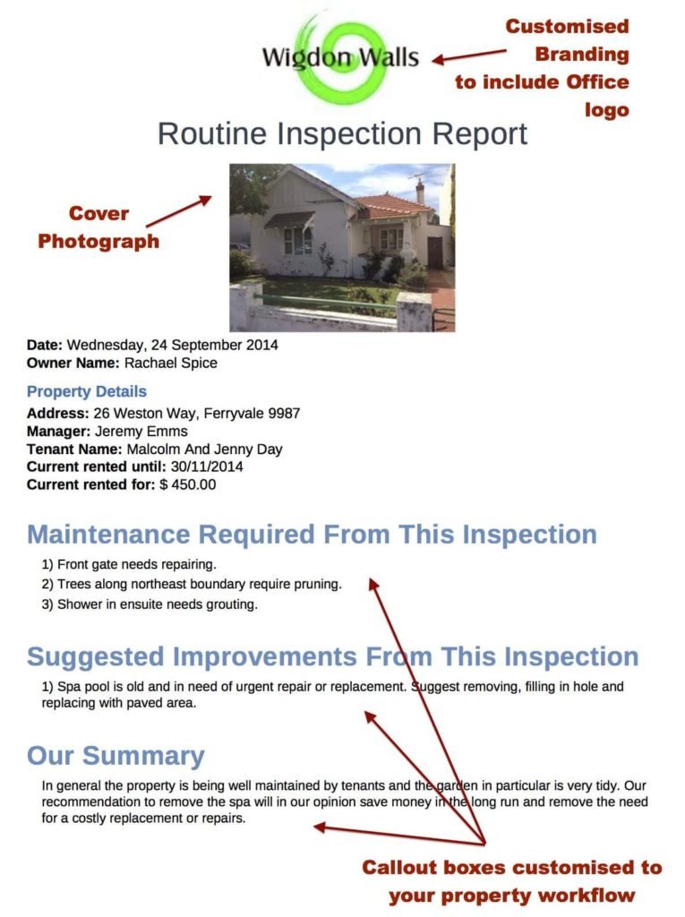 Commercial Building Inspection Form And Commercial Building Inspection Report Form
