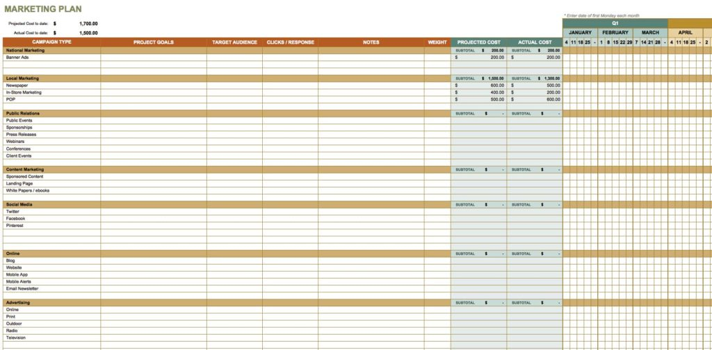 Project Plan Template Excel Free Download And Project Status Report Template Excel Free Download