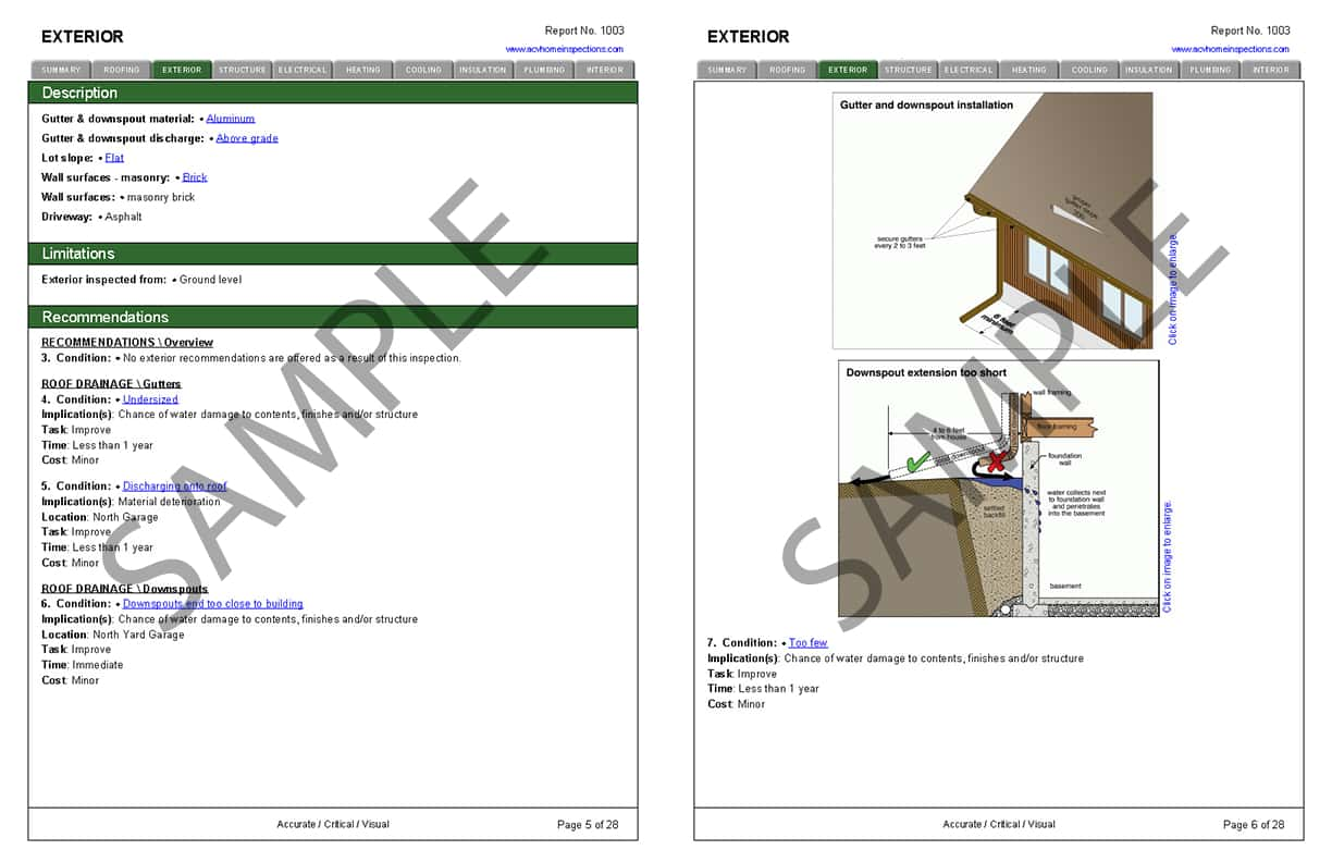 House Inspection Report Template And Home Inspection Report Template Free