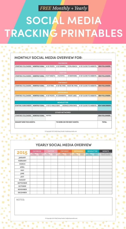 Social Media Report Template Pdf And Social Media Report Template Download