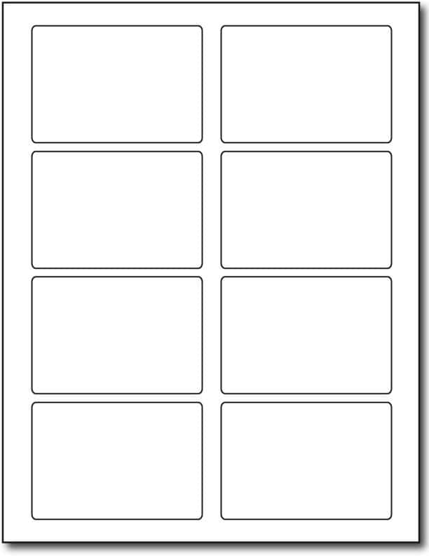 6 Labels Per Sheet Template Free And Word Template For Labels 6 Per Sheet