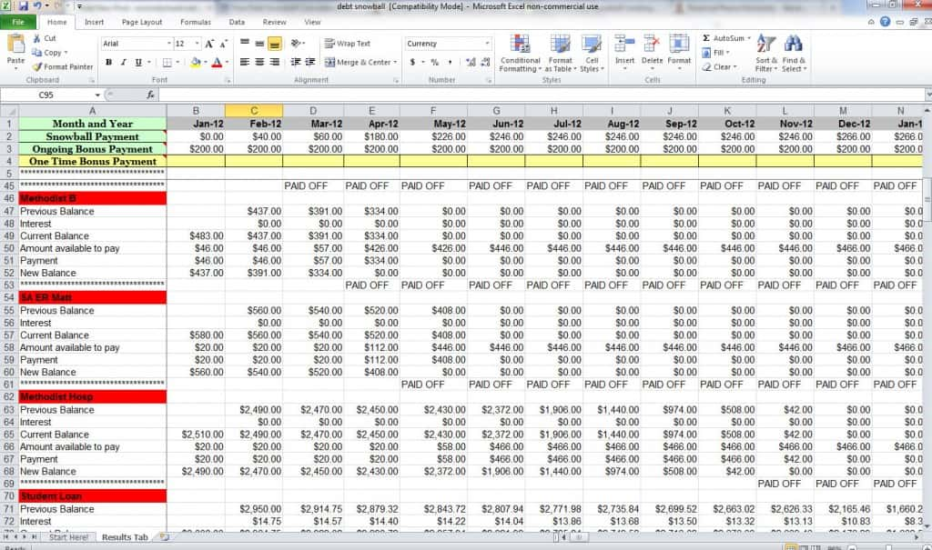 Budget Excel Template Reddit And Expenses Excel Template