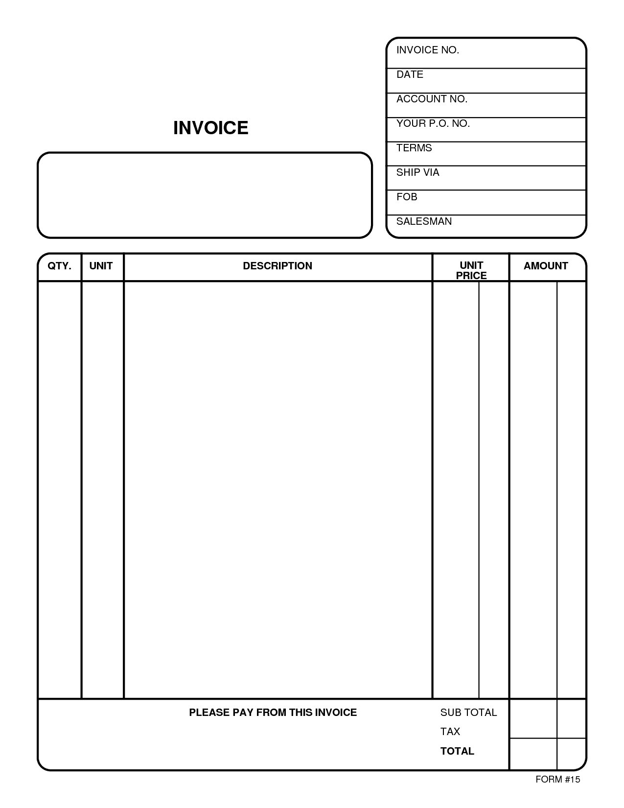 Online Bill Payment Example And Free Online Bill Template