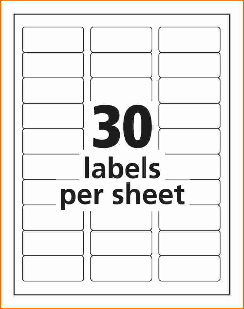 Template For Address Labels 6 Per Sheet And Address Label Templates