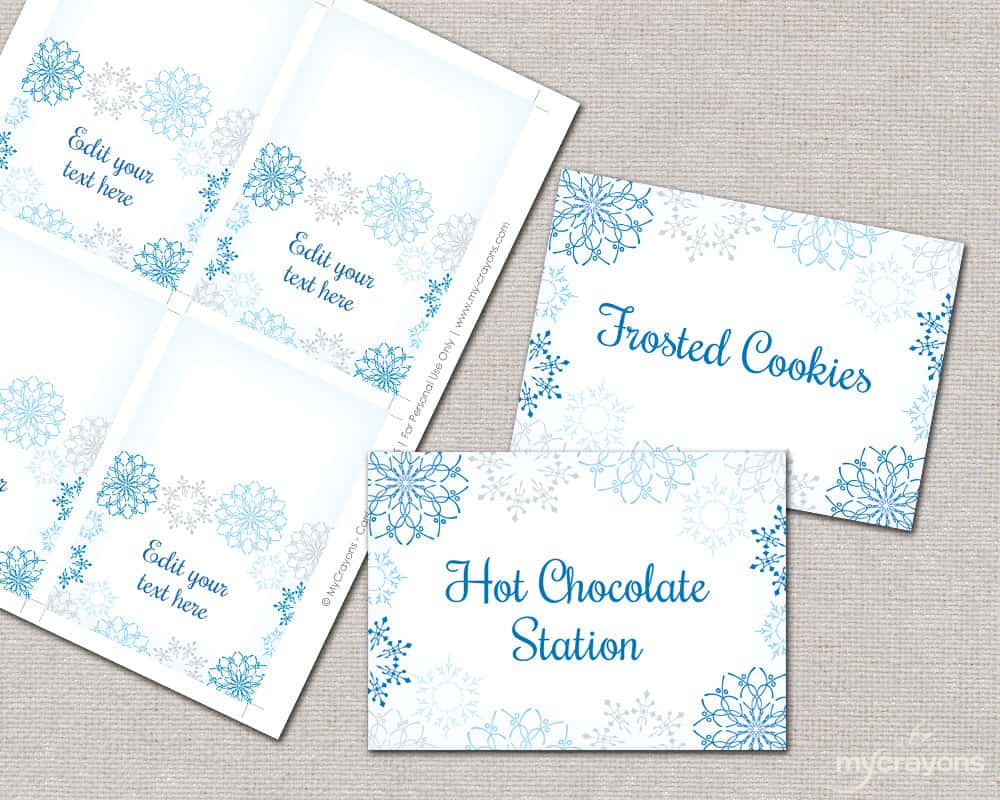 Tent Place Card Template For Word And Place Card Printing Template