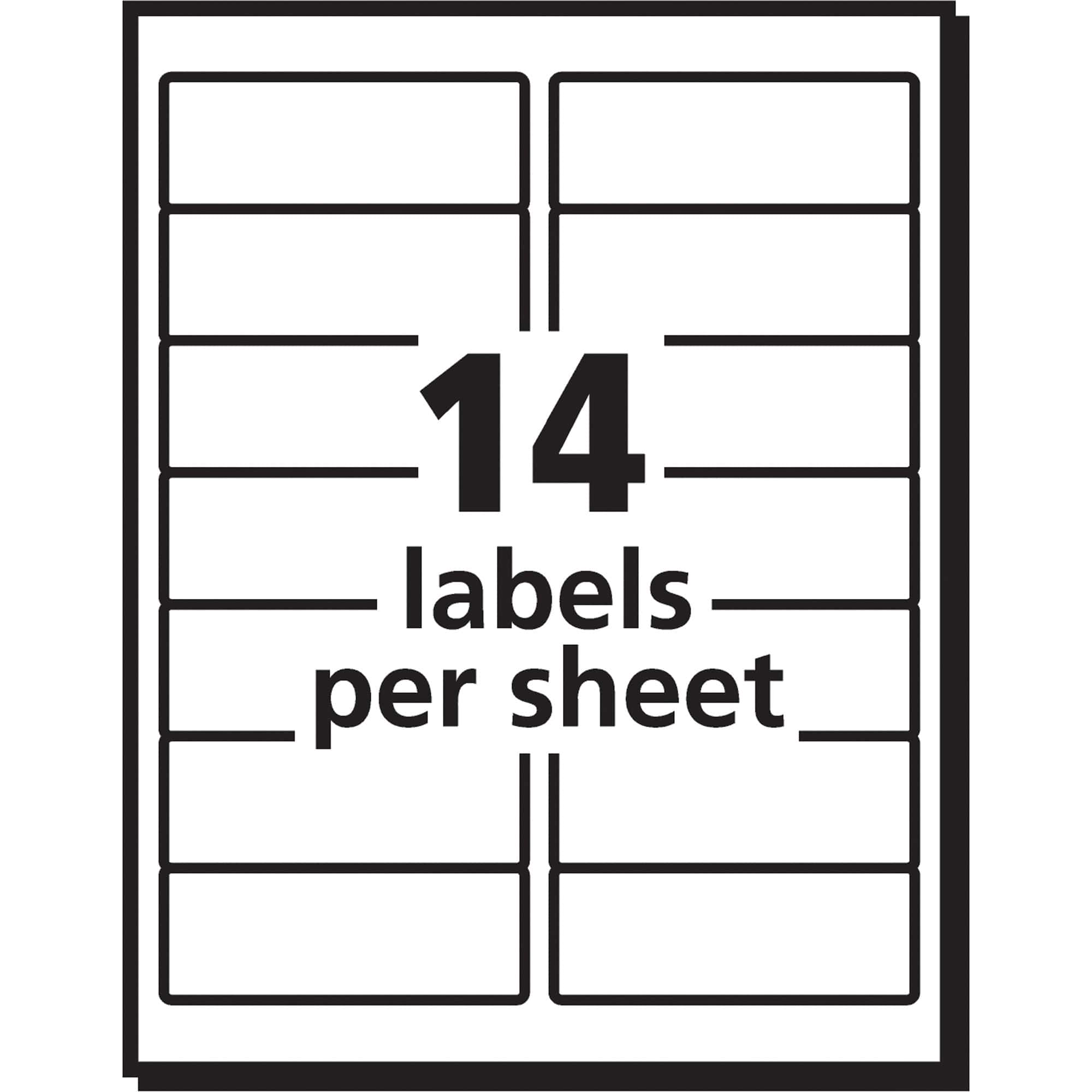 4 Per Sheet Label Template And Blank Label Template 4 Per Sheet