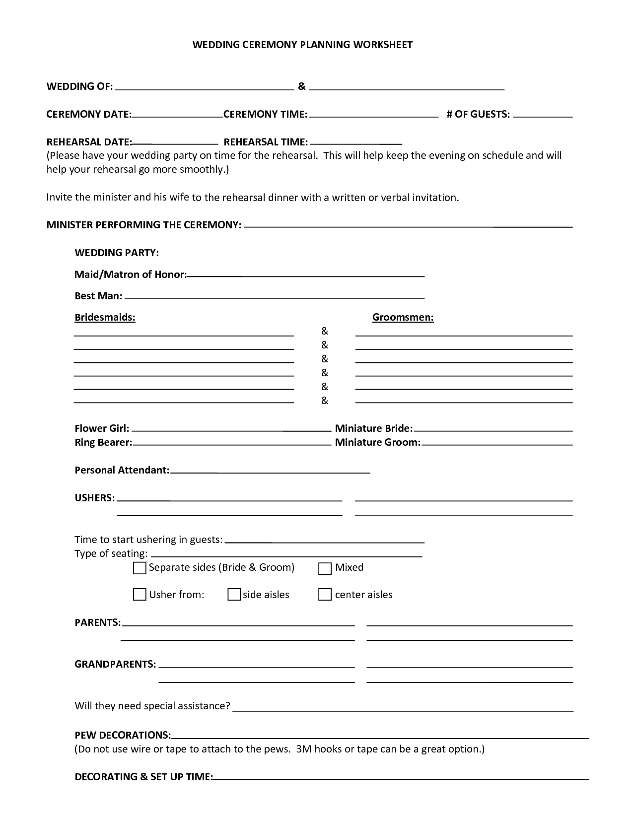 Catholic Funeral Planning Worksheet And Funeral Planning Guide Printable Form
