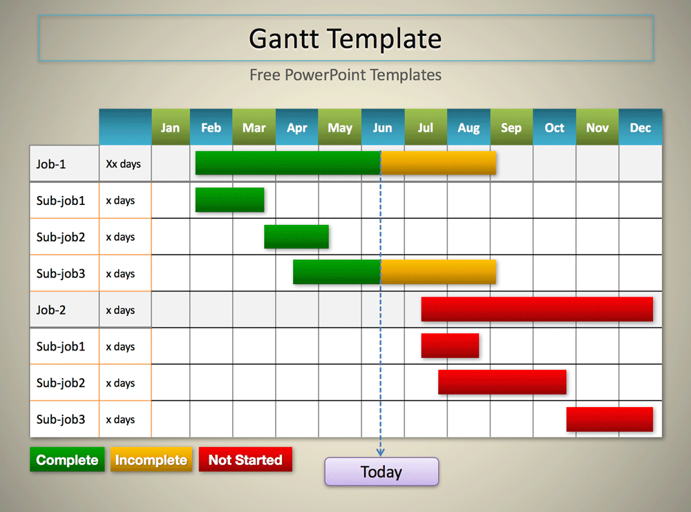 Free Download Gantt Chart In Excel Template And Gantt Chart Download