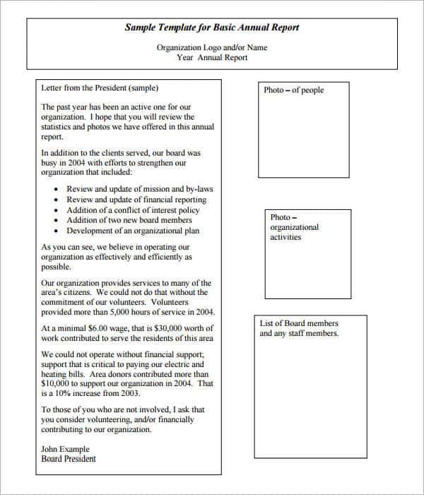 Non Profit Financial Statement Template Free And Non Profit Financial Statement Template Excel