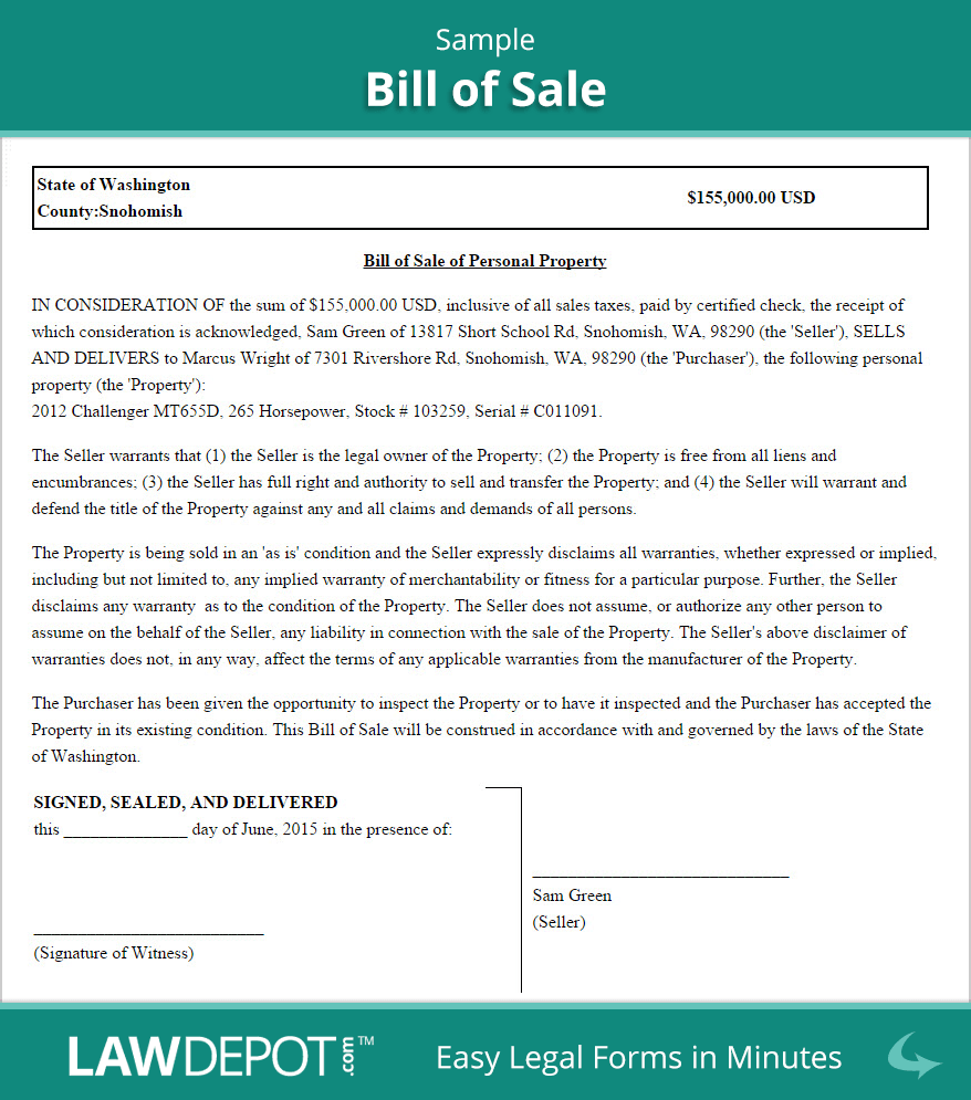 Small Business Bill Of Sale Template And Bill Of Sale For Business Purchase